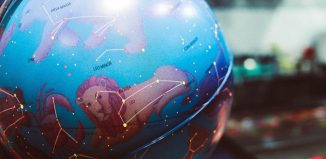 glob pamantesc cu imagini din zodiac