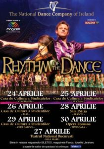 Afis RHYTHM OF THE DANCE - turneu national