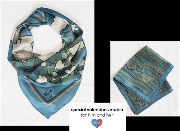 Magnolia Matching Scarves 2