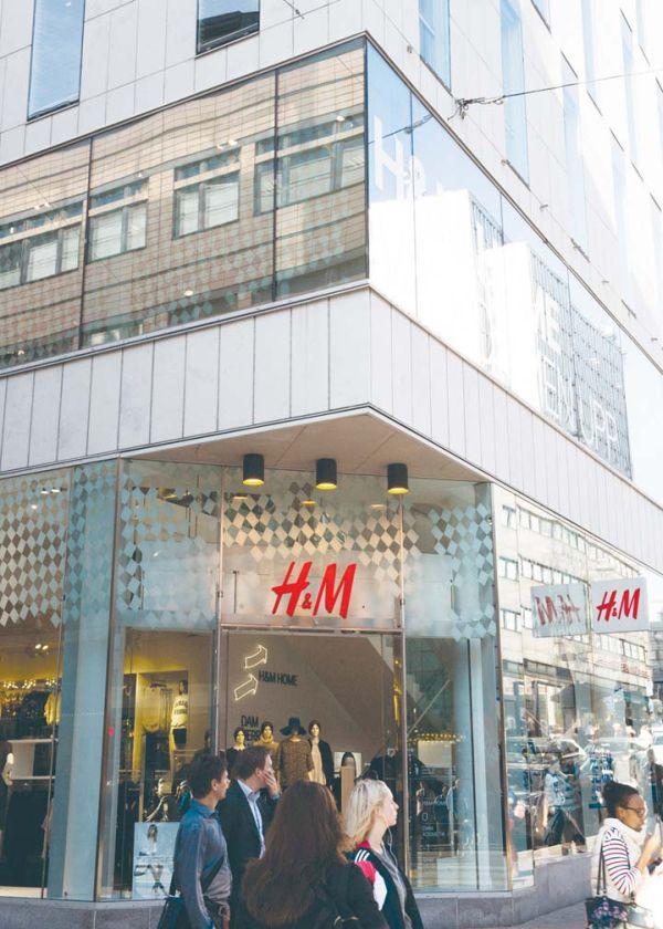 magazin H&M Stockholm
