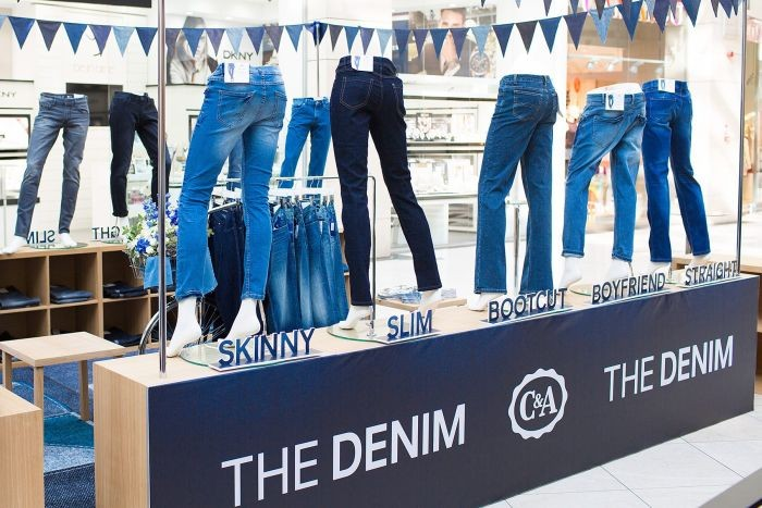 C&A THE DENIM stand cefacemimi.ro