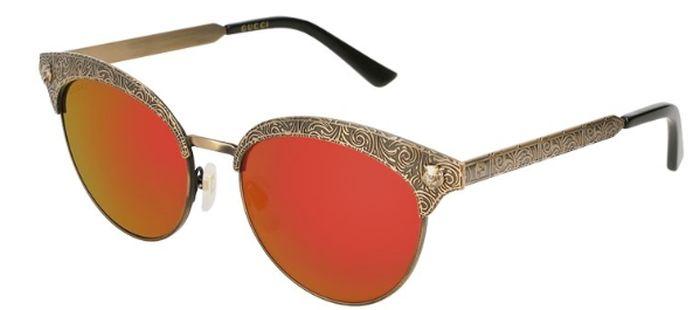 Ochelari de soare Gucci GG0220S-001 cu lentile tip oglindă