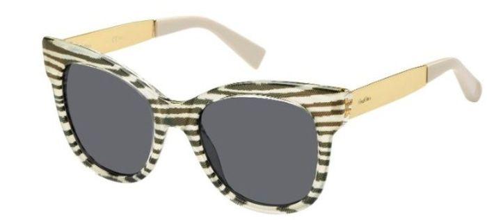 Ochelari de soare Max Mara cu animal print