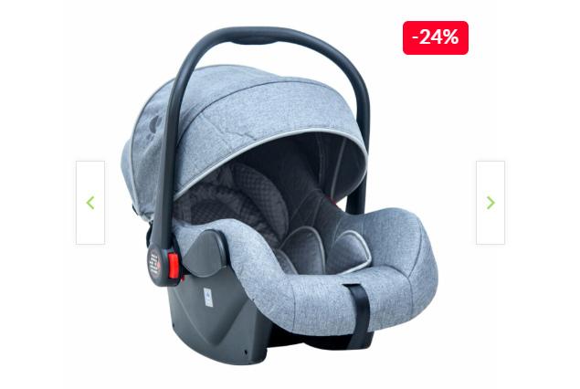 Scoica auto, un accesoriu obligatoriu, care face parte din categoria articole pentru bebeluși